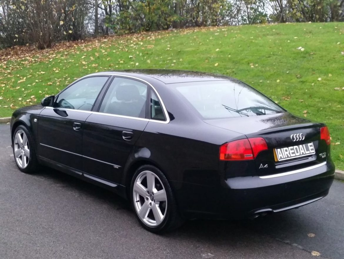 2007 audi a4 1 9 tdi s line 4dr saloon airedale cars. Black Bedroom Furniture Sets. Home Design Ideas