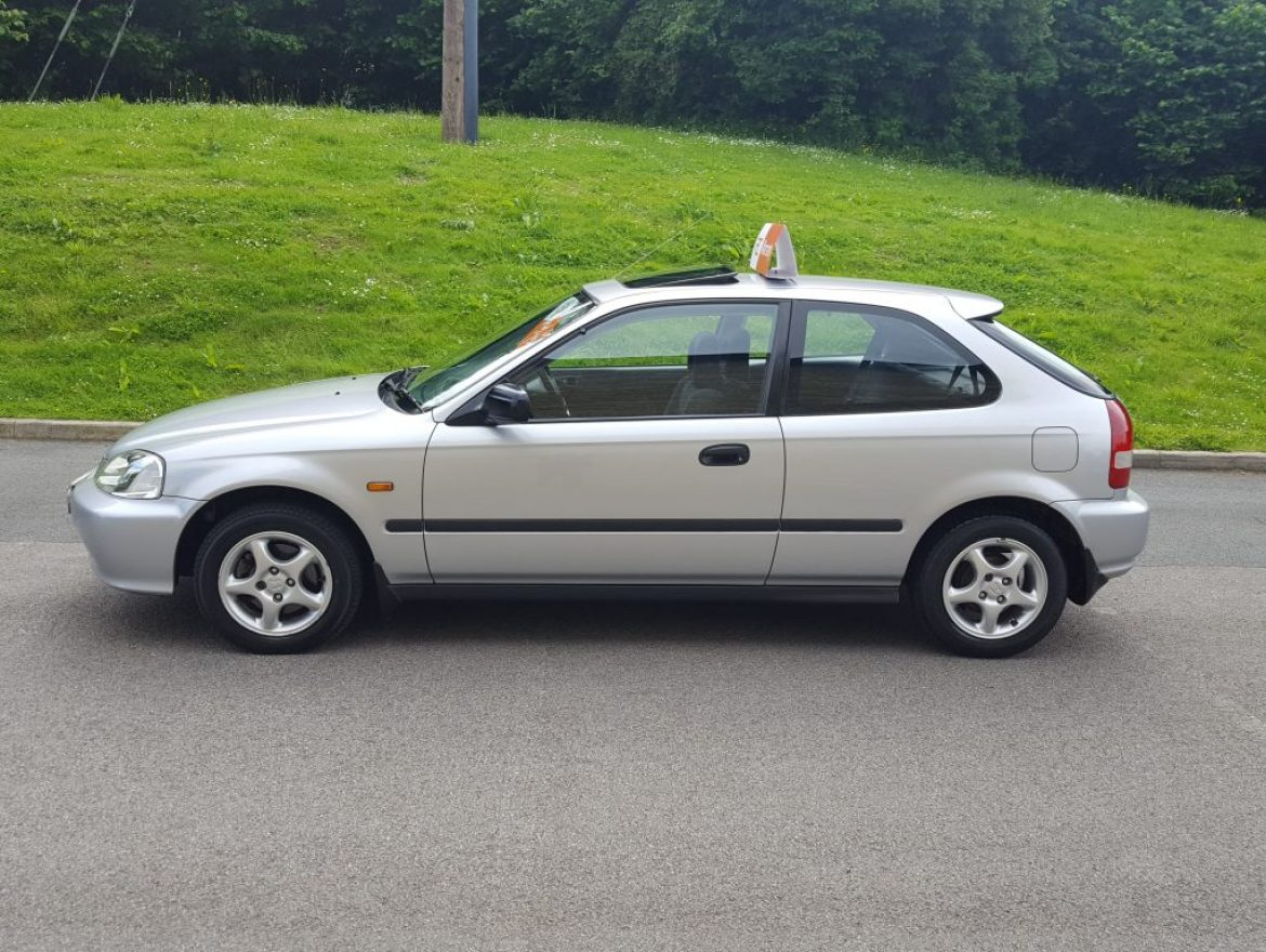 Bill Of Sale Example >> 2000 Honda Civic 1.4 i Sport 3dr (sun roof) - Airedale Cars