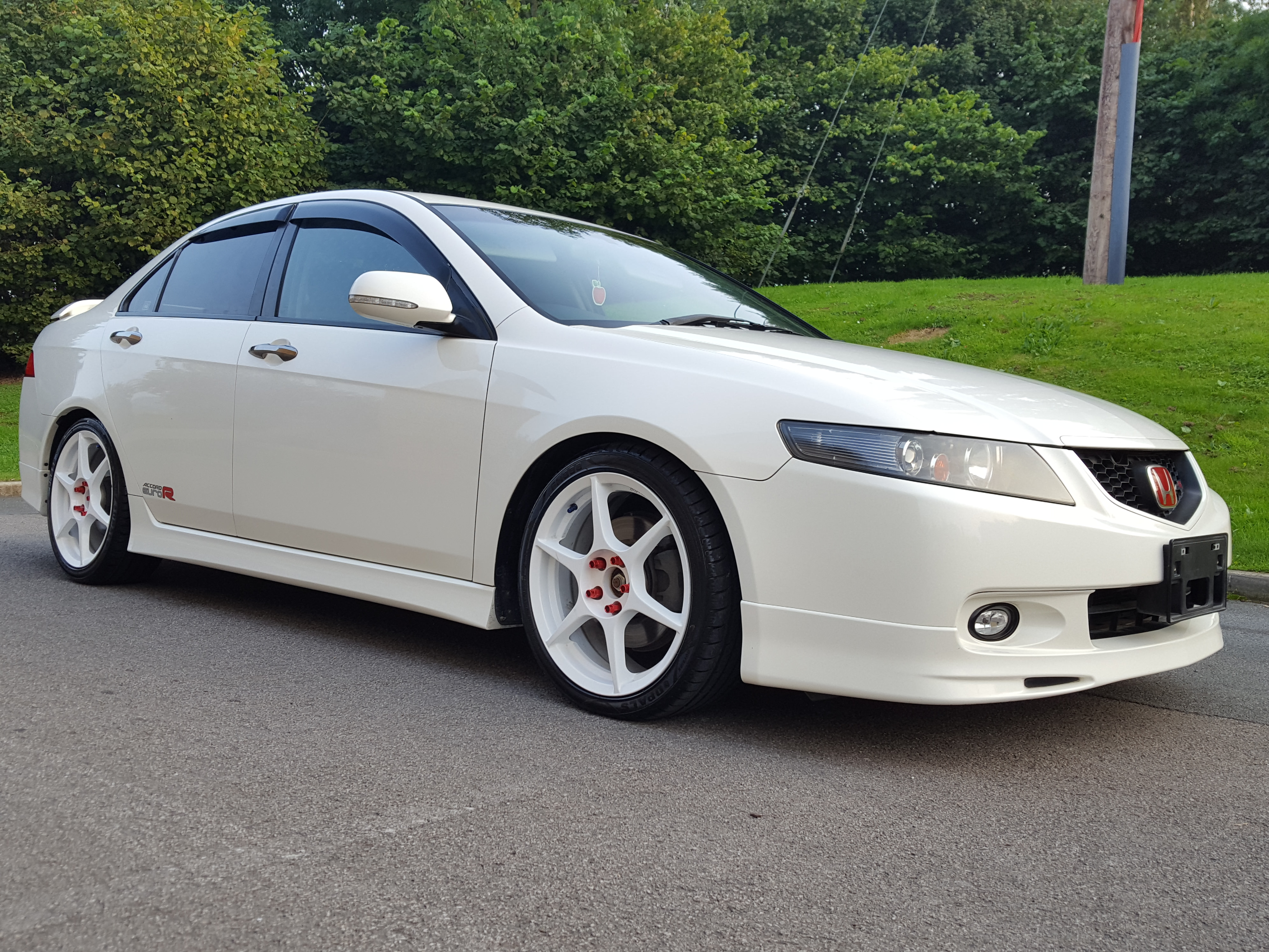 jdm honda accord cl  euro    bhp fresh import dr saloon airedale cars