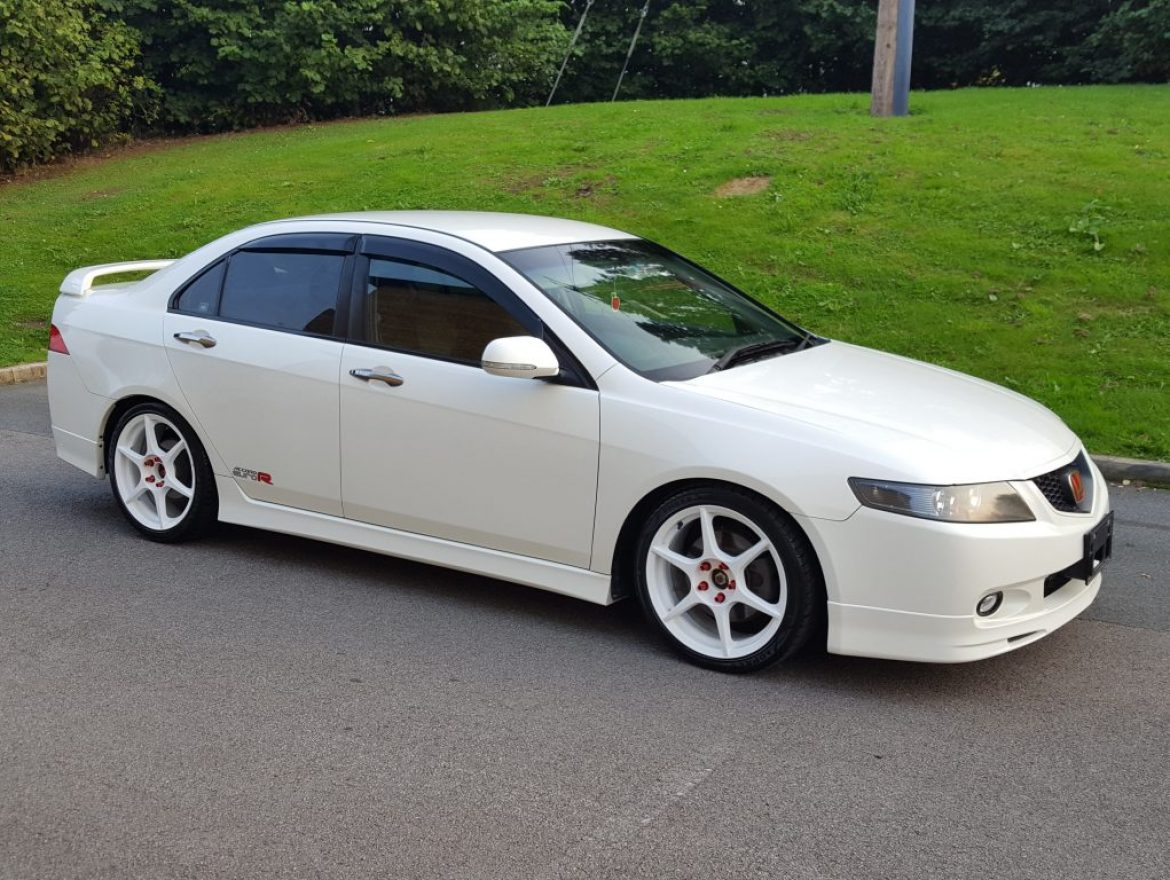 2002 Jdm Honda Accord Cl7 2 0 Euro R K20 220 Bhp Fresh Import 4dr Saloon Airedale Cars