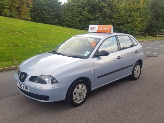 2003 SEAT Ibiza 1.2 12v 5dr