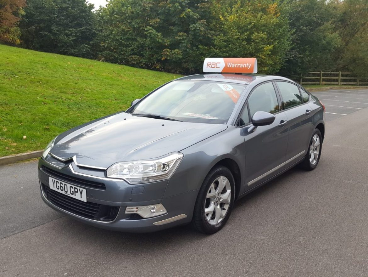 2010 citroen c5 2 0 hdi 16v 160 bhp vtr 4dr saloon nav. Black Bedroom Furniture Sets. Home Design Ideas