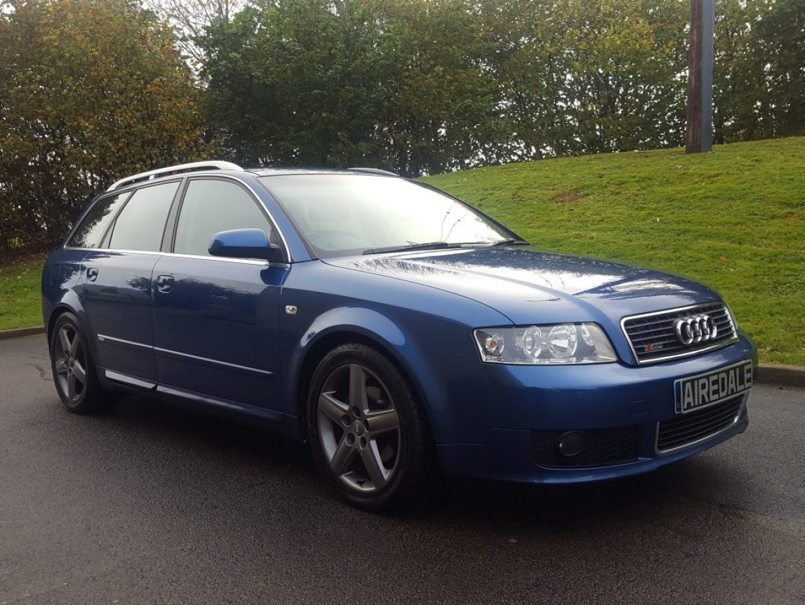 2004 audi a4 avant 1 9 tdi sport 5dr avant s line airedale cars. Black Bedroom Furniture Sets. Home Design Ideas
