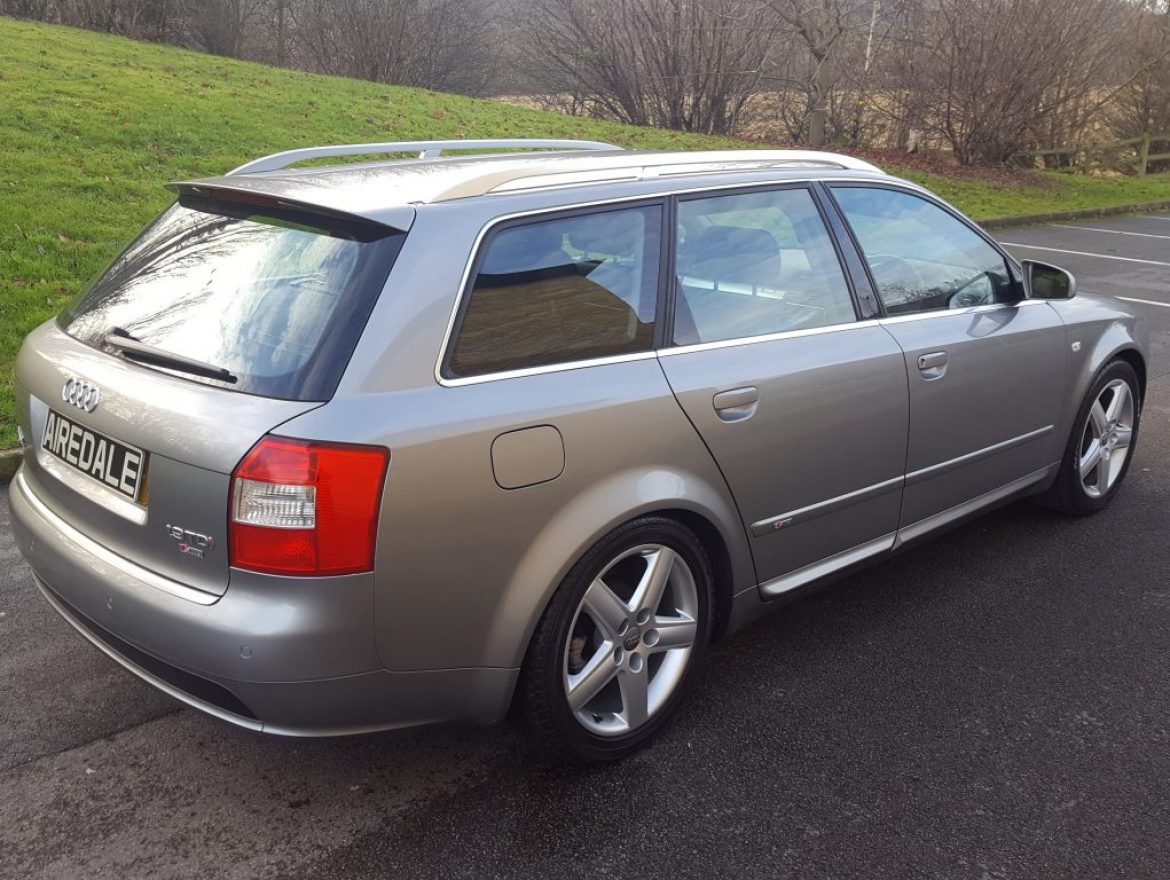 2004 audi a4 avant 1 9 tdi s line sport 5dr avant airedale cars. Black Bedroom Furniture Sets. Home Design Ideas