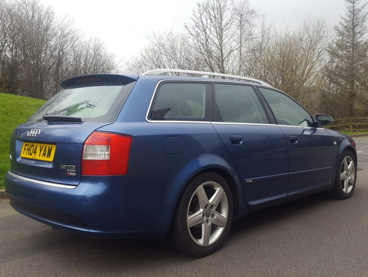 2004 audi a4 avant 1 9 tdi s line sport quattro 5dr estate. Black Bedroom Furniture Sets. Home Design Ideas