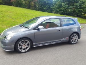 2005 Honda Civic 2.0 i-VTEC Type R Hatchback 3dr AC