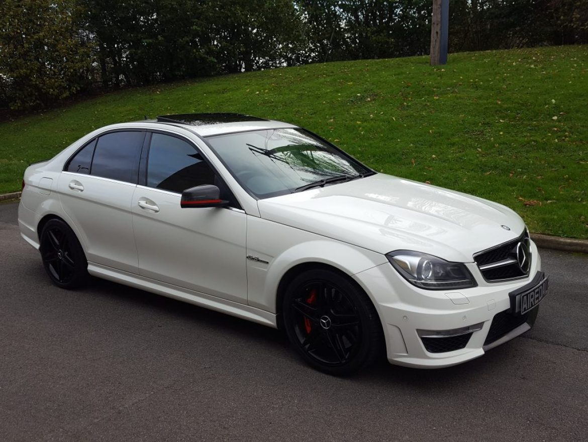 2011 Mercedes-Benz C Class 6.3 C63 AMG Edition 125 7G-Tronic 4dr Saloon