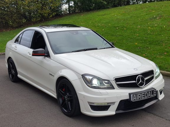2011Mercedes-Benz C Class 6.3 C63 AMG Edition 125 7G-Tronic 4dr Saloon