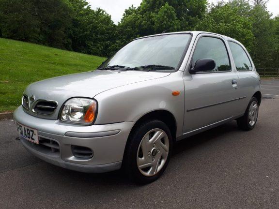 2001  Nissan Micra 1.0 16v S 3dr Hatchback
