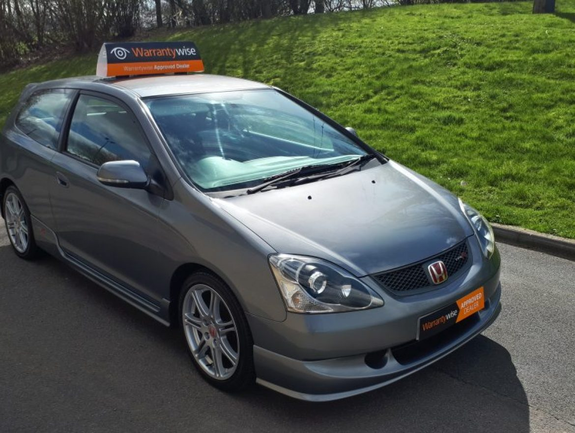 2005 HONDA CIVIC EP3 2.0 TYPE-R 3dr HATCHBACK AC 200 BHP