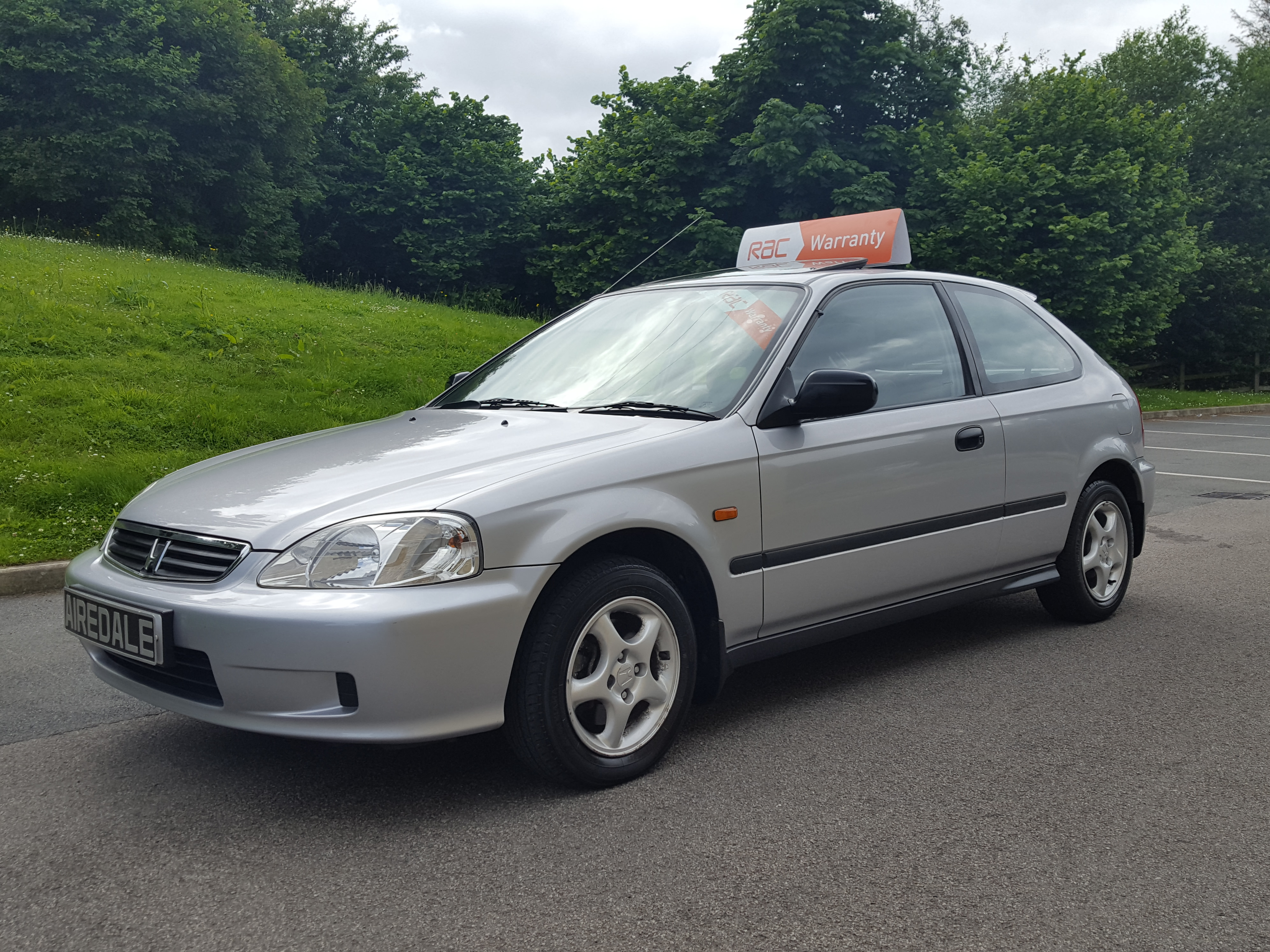 2000 Honda Civic 1.4 i Sport 3dr (sun roof) - Airedale Cars